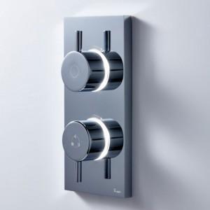 Crosswater Kai Dual Outlet Digital Shower Dual Outlet LP DUOKLLP
