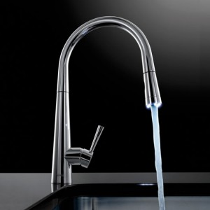 Franke Rolux Pull Out Spray Kitchen Sink Mixer Chrome