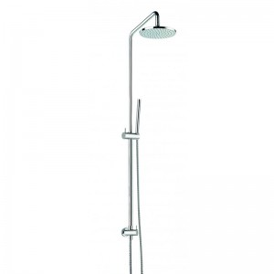 Levo Rigid Riser with 200mm Fixed Head and Diverter to Single Function Handset