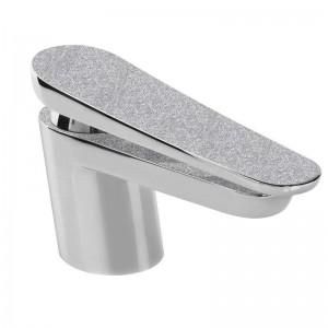 Metallix Claret Basin Mixer Silver Sparkle