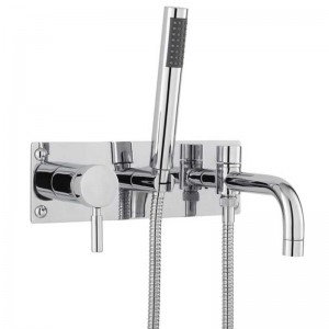 Helix Single Lever Wall Bath Shower Mixer