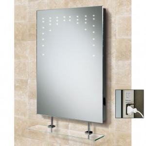 Rain Bathroom Mirror
