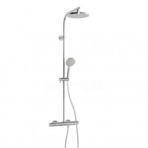 Curve Cool Touch Exposed Shower With Riser Kit