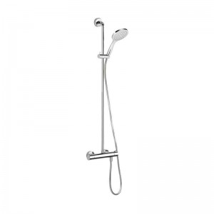 Solo Exposed Shower With Riser Kit