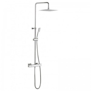 Crosswater Atoll Multifunction Shower with Riser