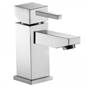 Pura Bathrooms SQ2 Basin Mixer - High Flow - inc Clicker Waste