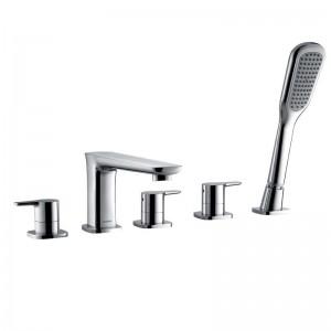 Urban 5 Hole Bath Shower Mixer