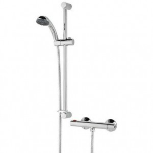 Zing Thermostatic Bar Valve with Adjustable Riser (Showers)