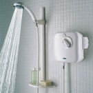 Intergrated power shower