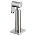 Brushed Steel Rinse taps and sprays