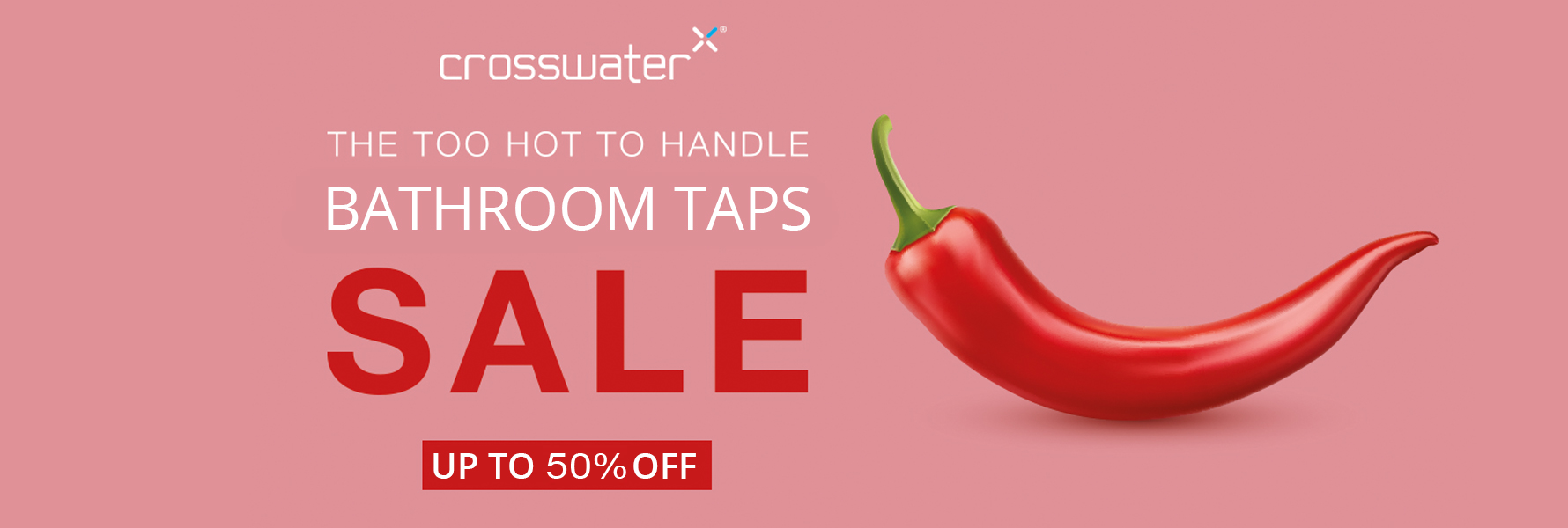 Crosswater Bathroom taps Sale