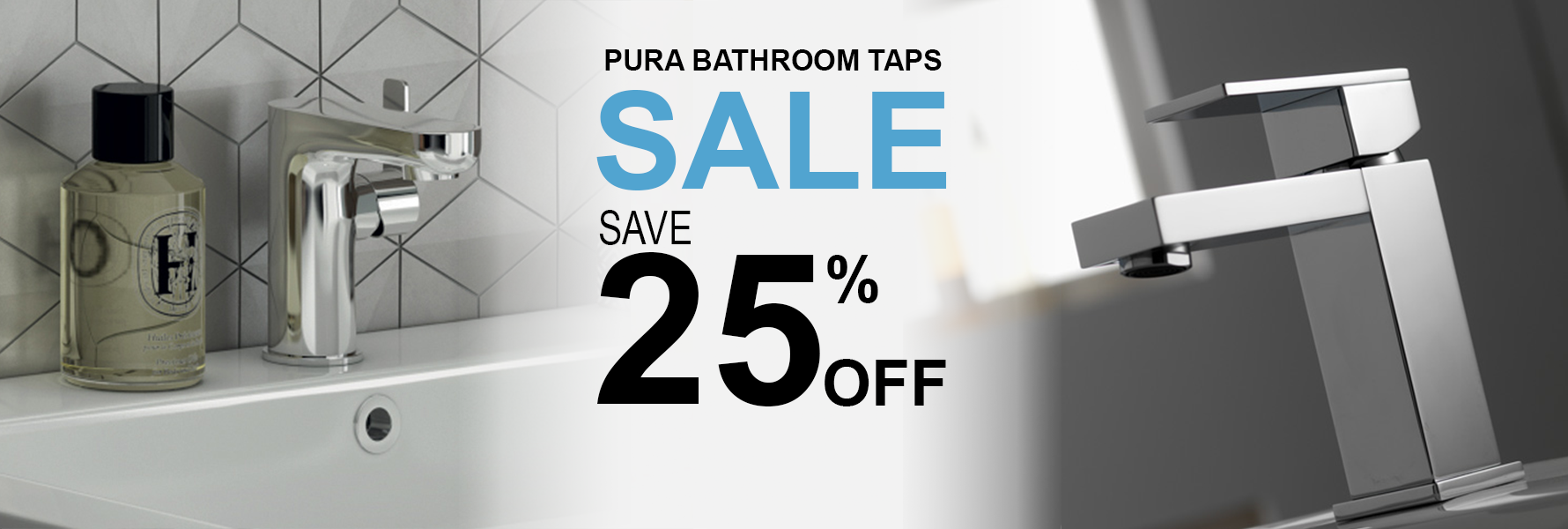 Pura Bathroom Taps